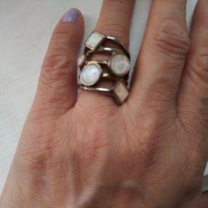 Vintage. Cuff Ring